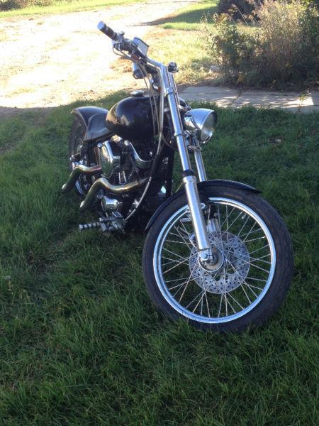 Custom softail Chopper