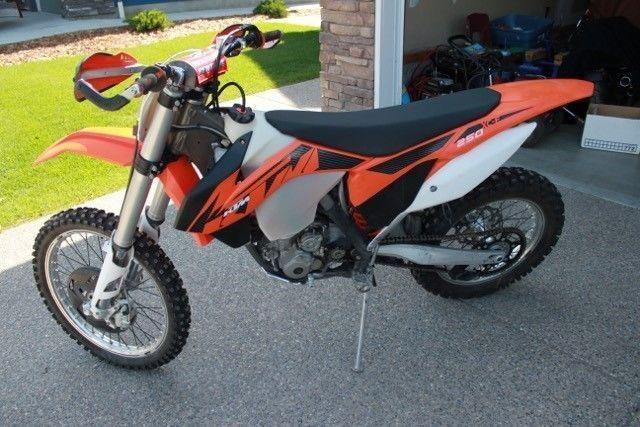 2013 KTM 250XC-F for sale
