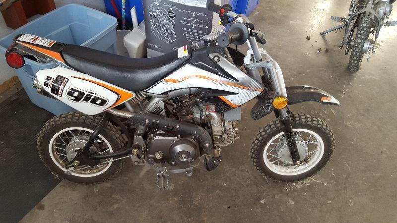2015 72cc gio dirt bike