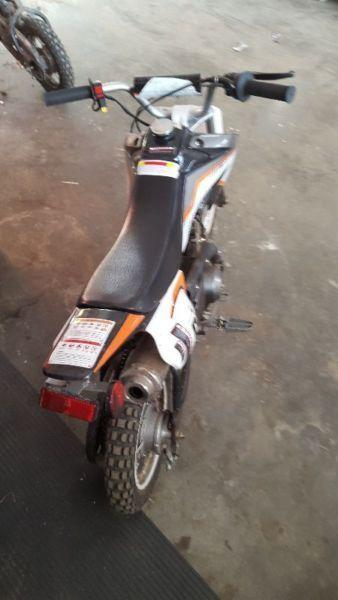 2015 72cc gio dirt bike