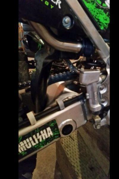 KX 250 two stroke