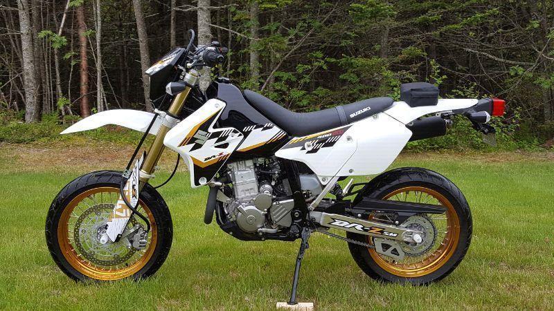 Suzuki Drz Seat Brick7 Motorcycle