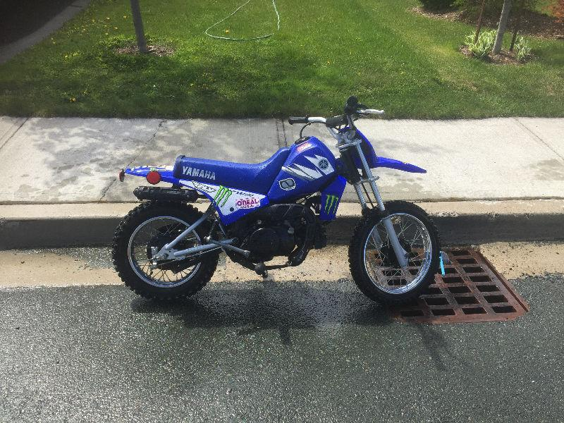 Pw80 semi brick7 motorcycle for 2001 yamaha pw80 for sale
