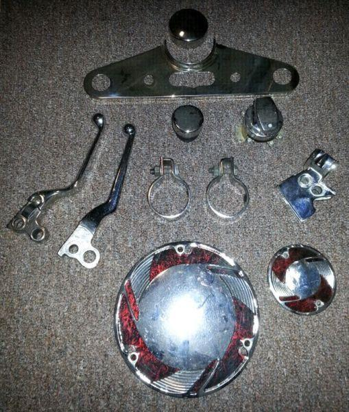 VARIOUS HARLEY PARTS EVOLUTION ERA