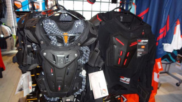 CHEST/BACK PROTECTORS FOR CHILDREN AND ADULTS IN STOCK NOW!