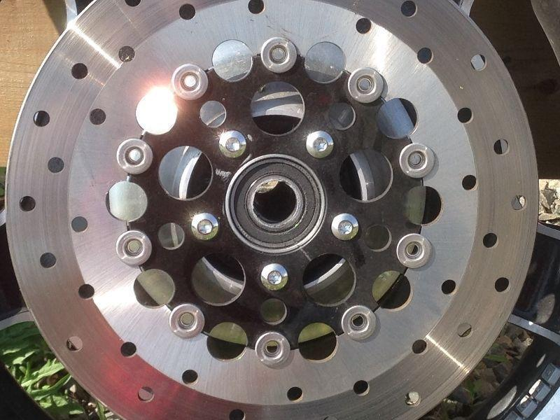 Harley Softails For Sale Ca >> Front Floating Disc For Harley Softail - Brick7 Motorcycle