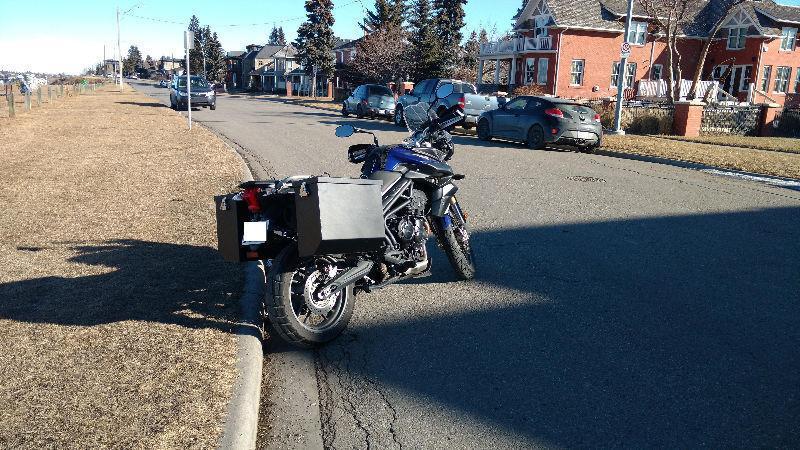 Motorcycle Luggage-Aluminum
