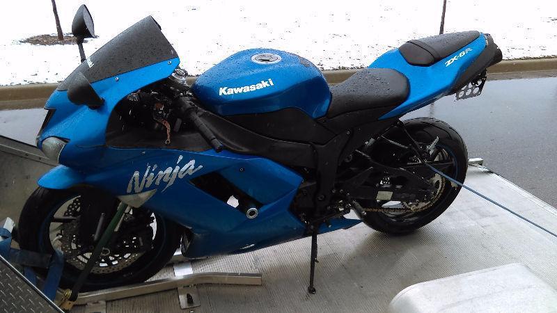 2007-2008 kawasaki ninja zx6r zx6-r zx-6r ninja selling parts