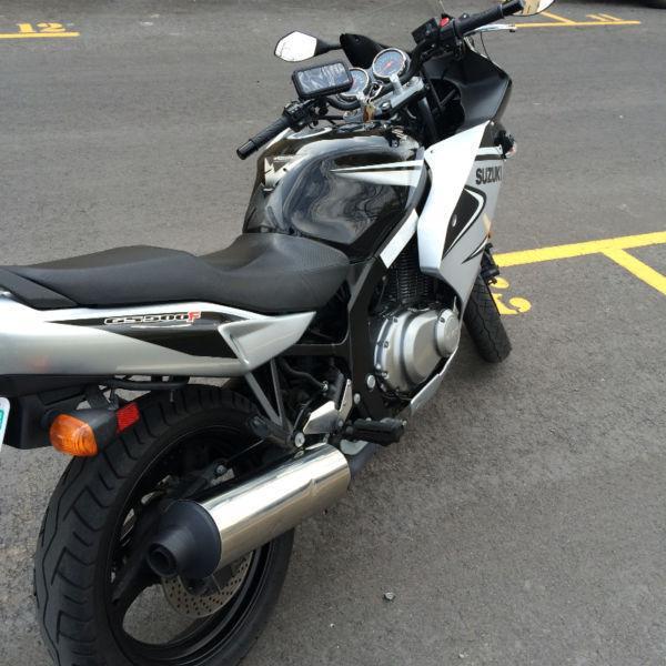 GS500F Suzuki 06