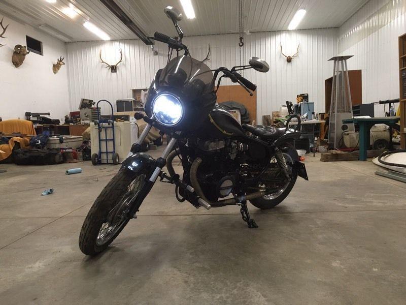 83 Honda cm450 bobber