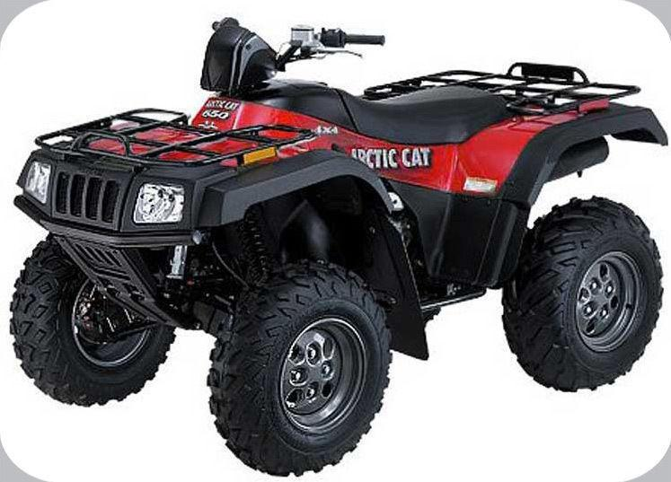 artic cat 2004 650 part out peices atv 4x4