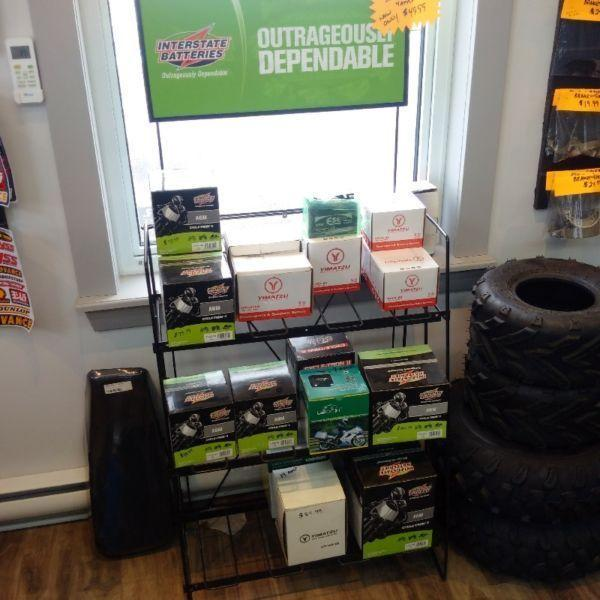 UPGRADE YOUR ATV BATTERY TODAY!! 50cc to 250cc!!!! SALE!!!!