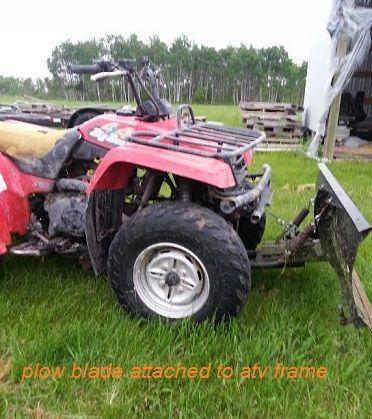 ATV Snowplow, Price reduced Scooter, 7' SnowPlow, Winter Tires