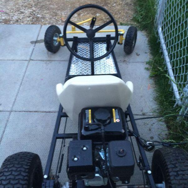 New Custom Built Motorized Go Cart