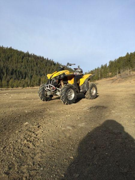 2007 can am renegade trades for dirt bike