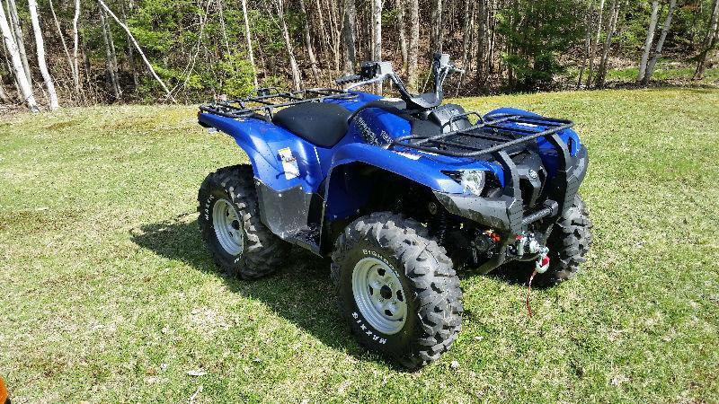 2014 Yamaha Grizzly 4x4 700 EFI EPS