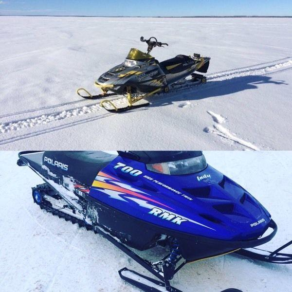 Two sleds for $6000.0