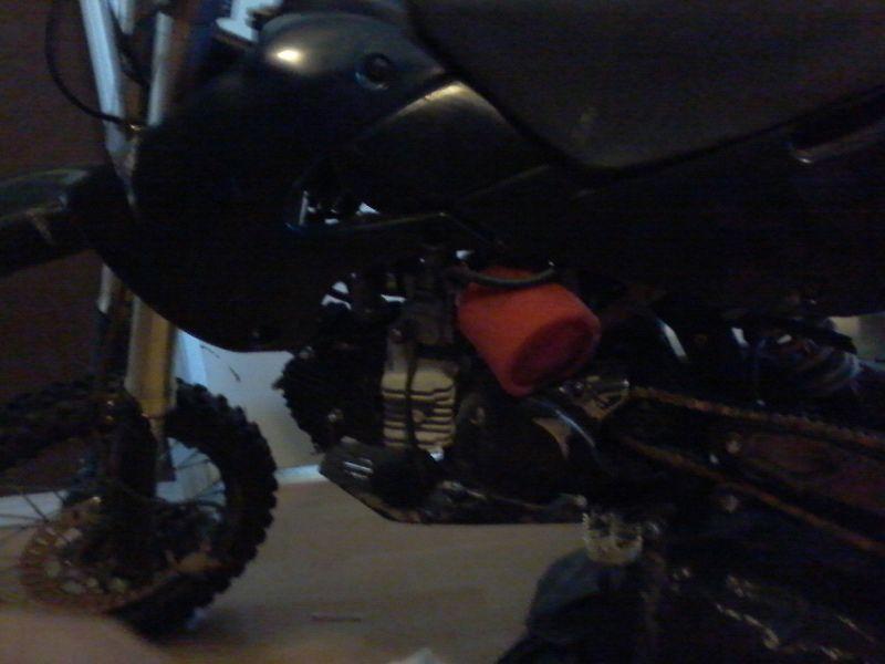 184cc custom built racing pit bike dirt bike not gio