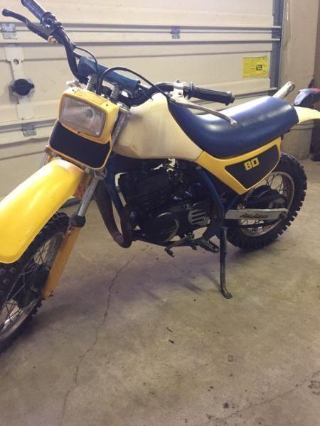 1987 Suzuki 80cc
