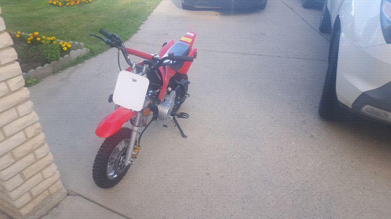 90cc dirt bike MINT CONDITION
