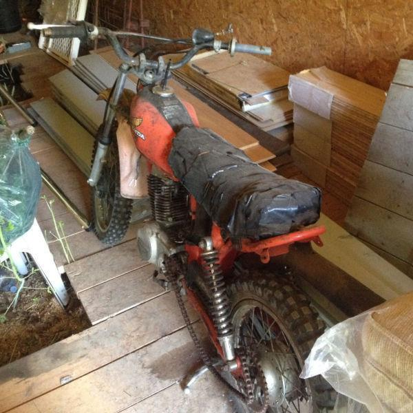 Dirtbikes for Riding Lawn Mower/Small Outboard Motor