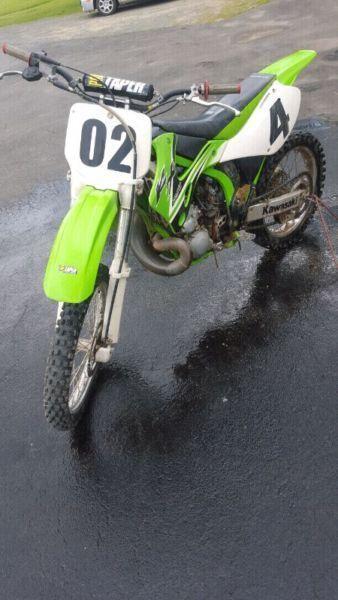 2002 kx 250