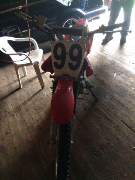 Baja 125cc Dirtbike