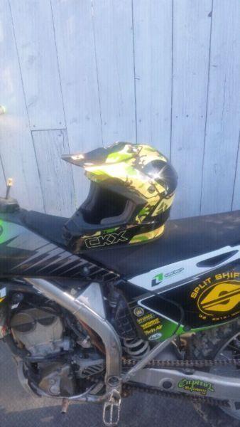 Dirt bike helmet ckx