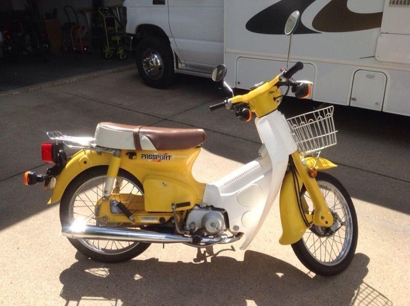 honda 50cc passport scooter brick7 motorcycle. Black Bedroom Furniture Sets. Home Design Ideas