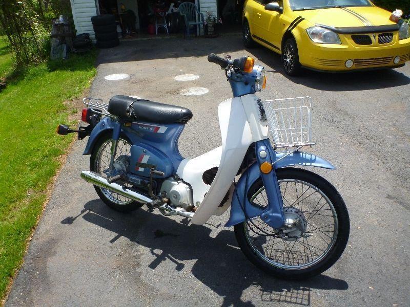 honda vintage passport scooters brick7 motorcycle. Black Bedroom Furniture Sets. Home Design Ideas