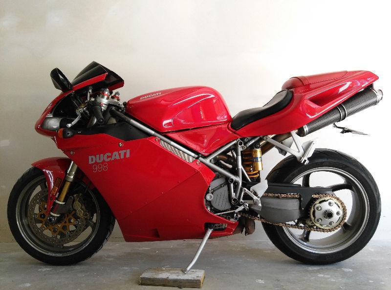 2002 DUCATI 998 FOR SALE