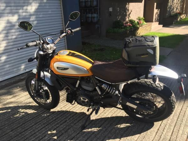 Ducati Scrambler Classic 2015 with optionals