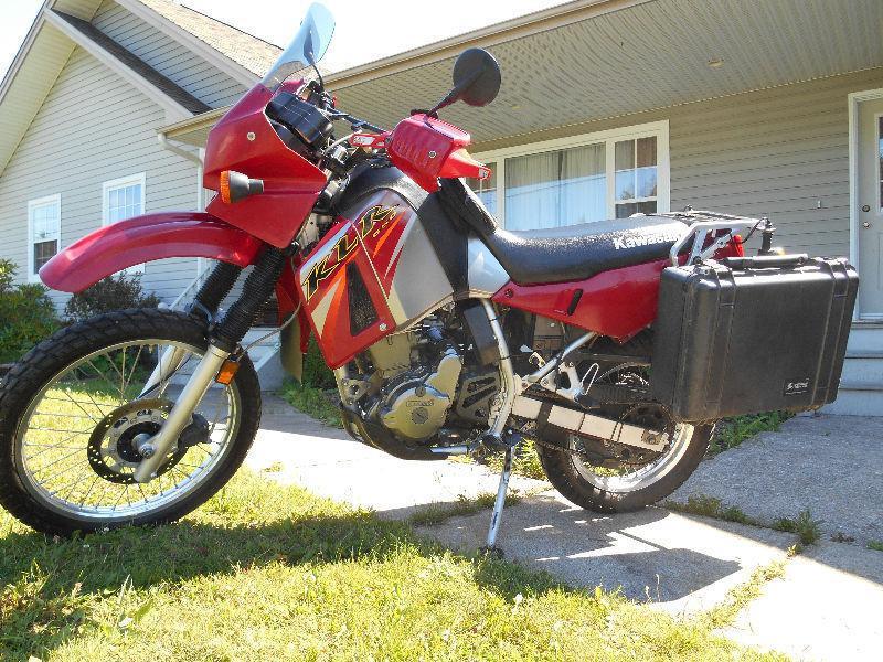 Kawasaki Klr650 - Brick7 Motorcycle