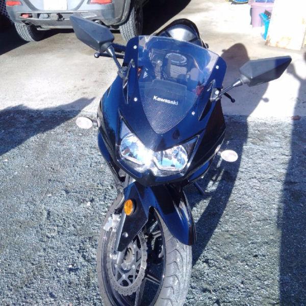 2009 Black Ninja 250