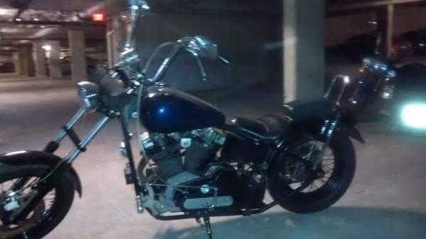 1977 Harley Ironhead chopper Custom hard tail