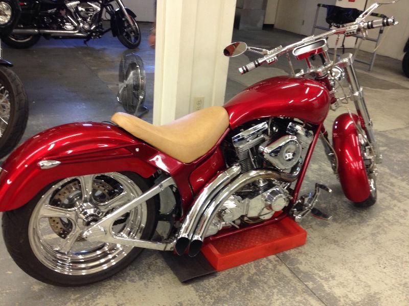 Custom Harley Fatboy Softail