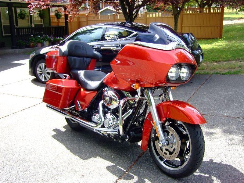 HD Road Glide Candy Orange