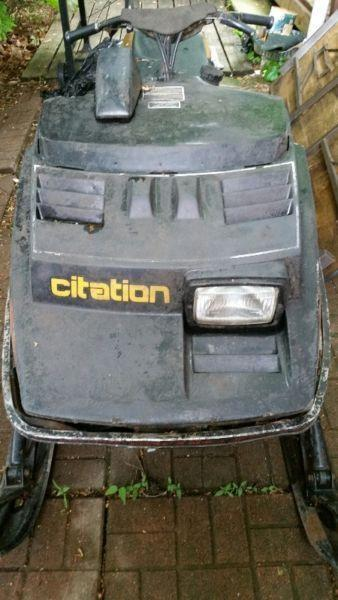 Ski-doo Citation with Ownership