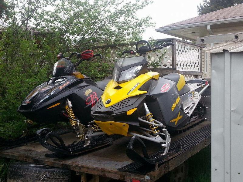 2008/2003 SkiDoo package deal with free trailer