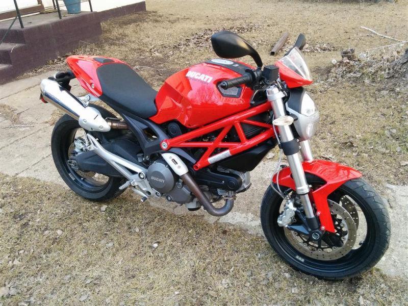 2009 Ducati Monster w/ Termignoni Exhaust
