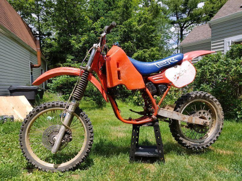 Cr 500 frame rolling chasis roller