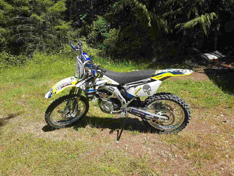 Mint condition dirt bike