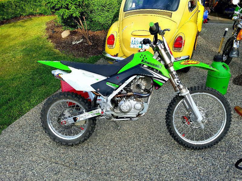 A Dream Bike... KLX140L built right