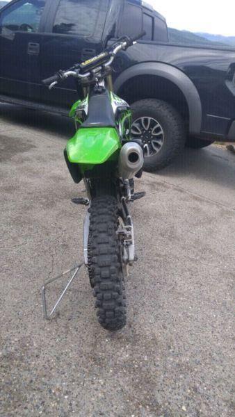 2008 KXF 250 Dirt Bike