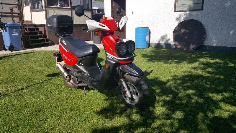 2005 yamaha bws scooter
