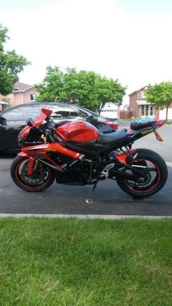 2009 suzuki gsxr 600 Black / Orange $5900