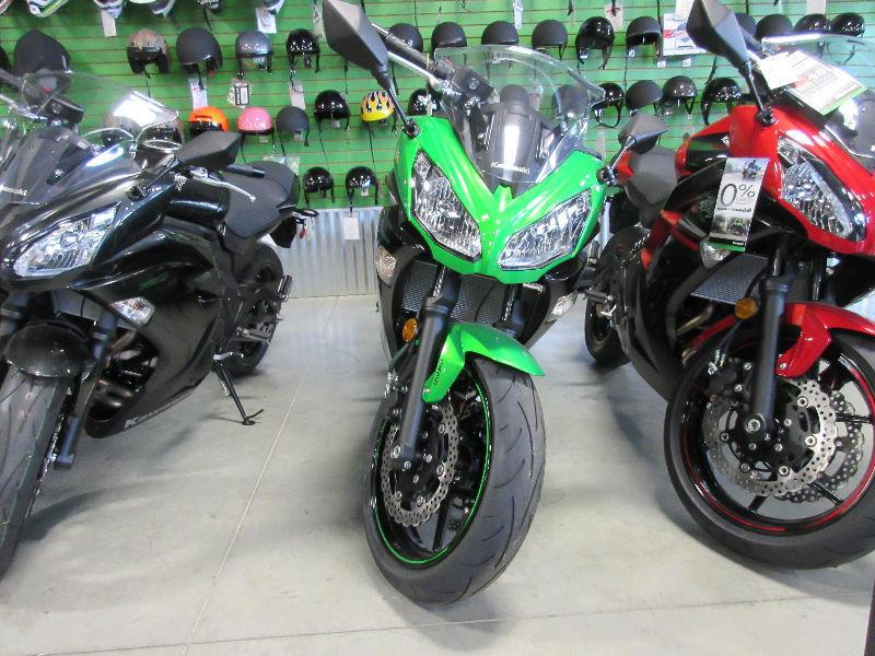 DEMO 2016 Kawasaki Ninja 650 ABS Sport Motorcycle SALE
