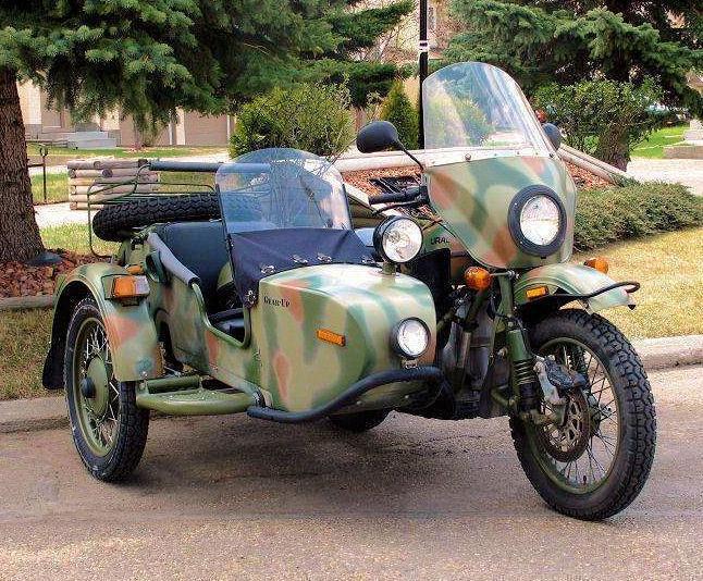 2007 URAL 750 cc Rare Gear-Up 2WD w/Sidecar