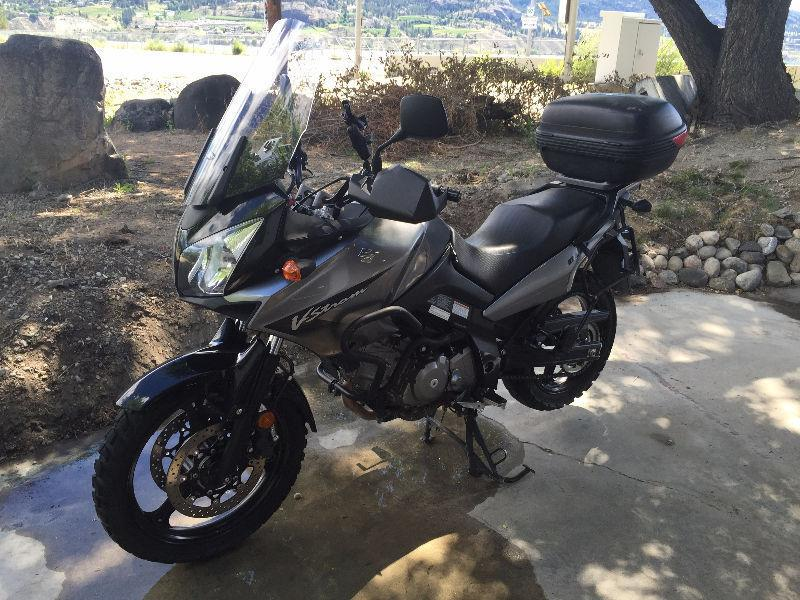 2007 Vstrom 650 DL650 well maintained, ready to go touring!