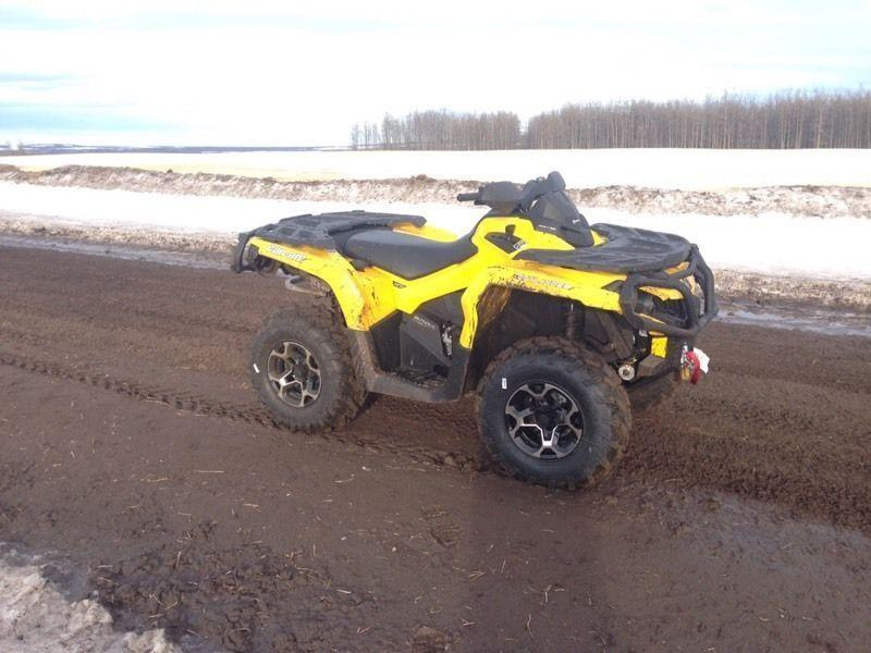 2014 Canam Outlander for sale REDUCED